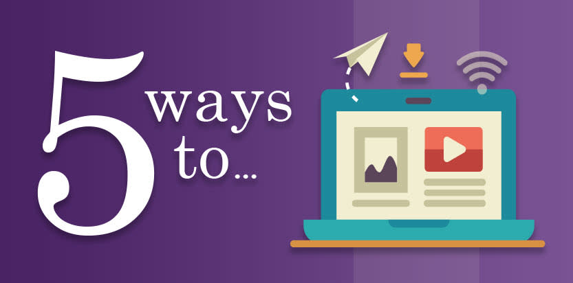 5 Ways to Events Module