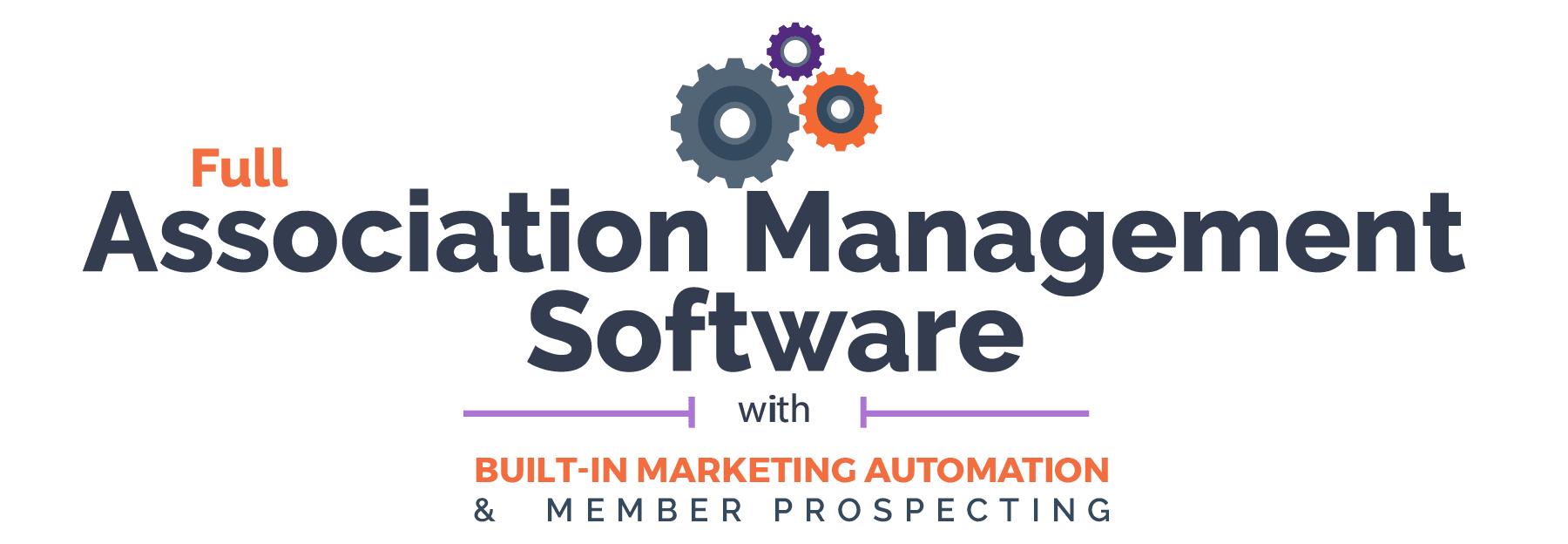 Full Association Management Software