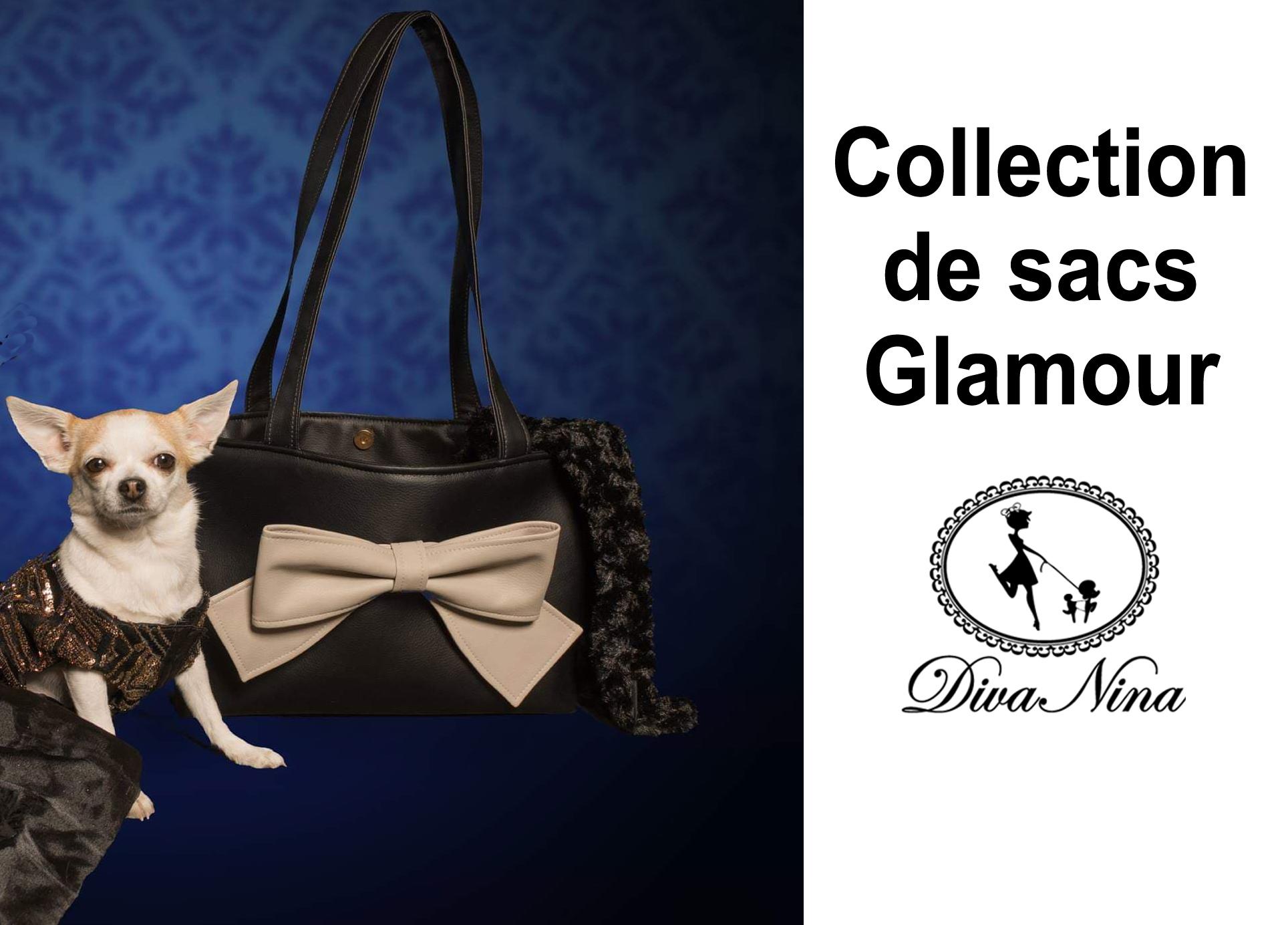 collections sacs, sleeping bag et chandails pour chiens Diva NINA