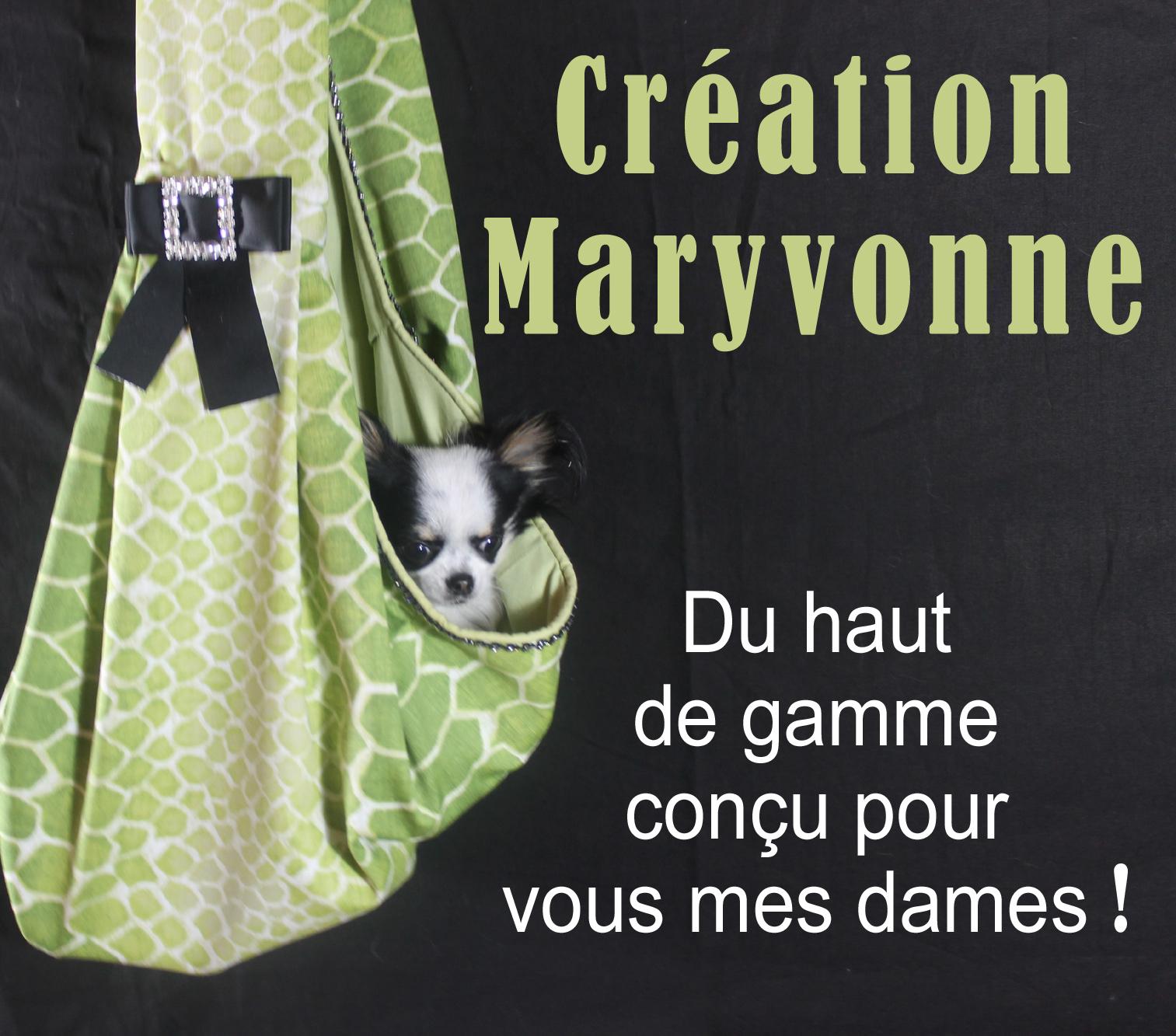 Création Maryvonne sac de transport petits chiens