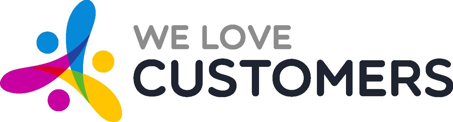 Logo We Love Customers