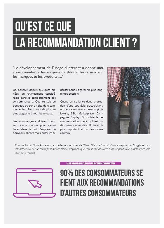 Extrait livre blanc recommandation client