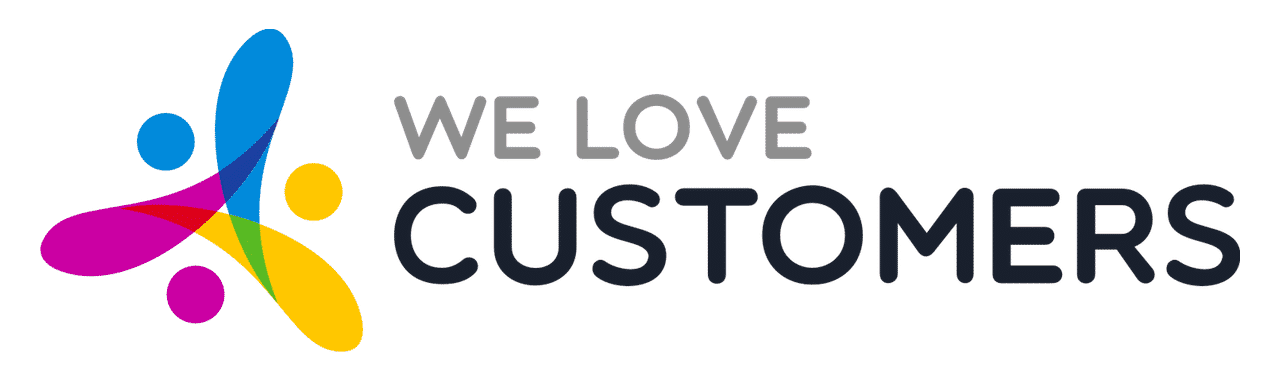 Logo We Love Customers