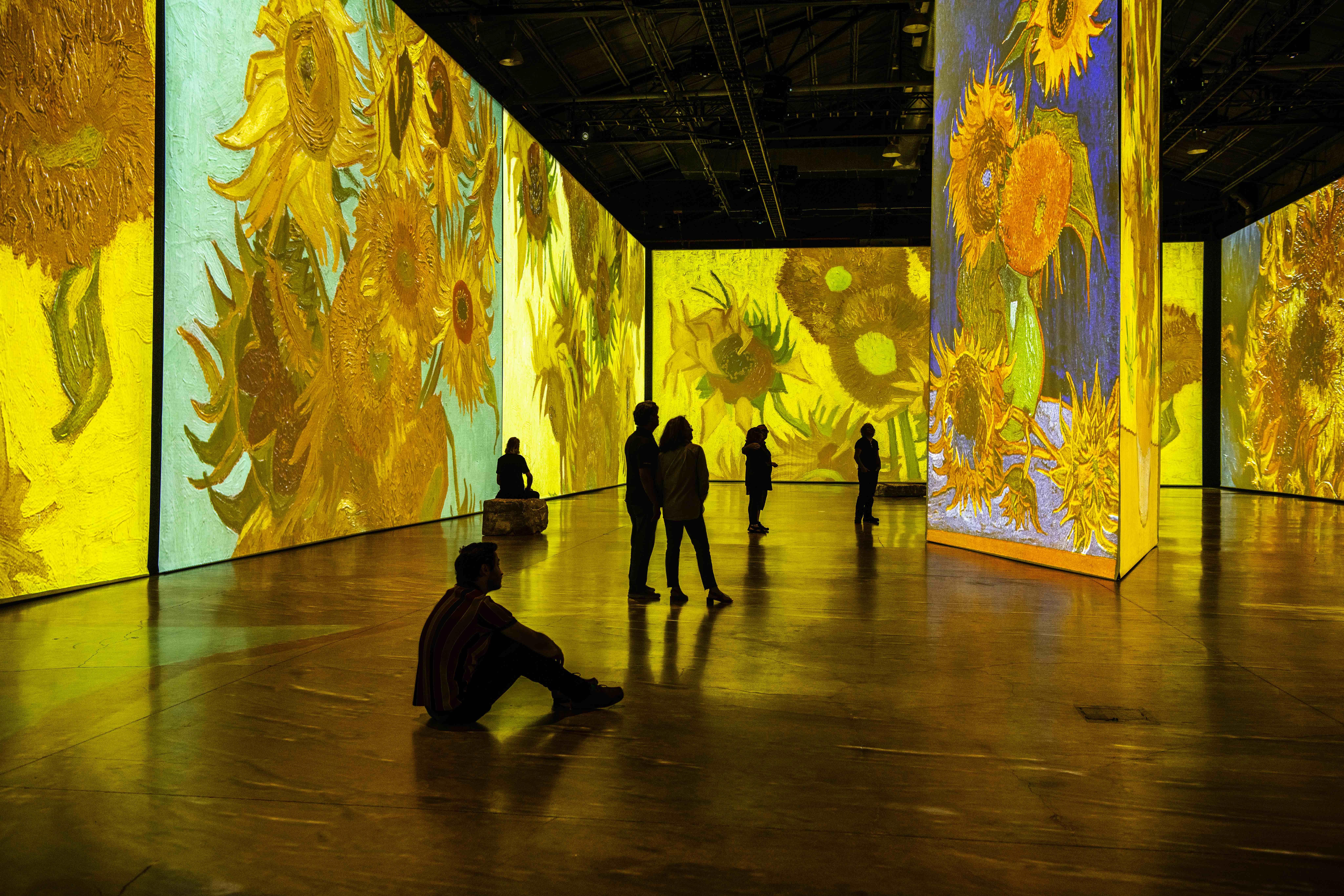 Imagine Van Gogh - Sunflowers