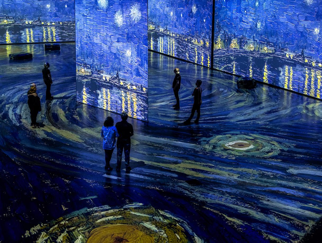 Imagine Van Gogh - Starry Night Over the Rhône