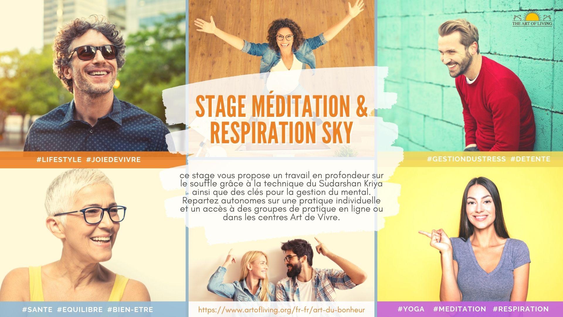Stage Méditation & Respiration SKY