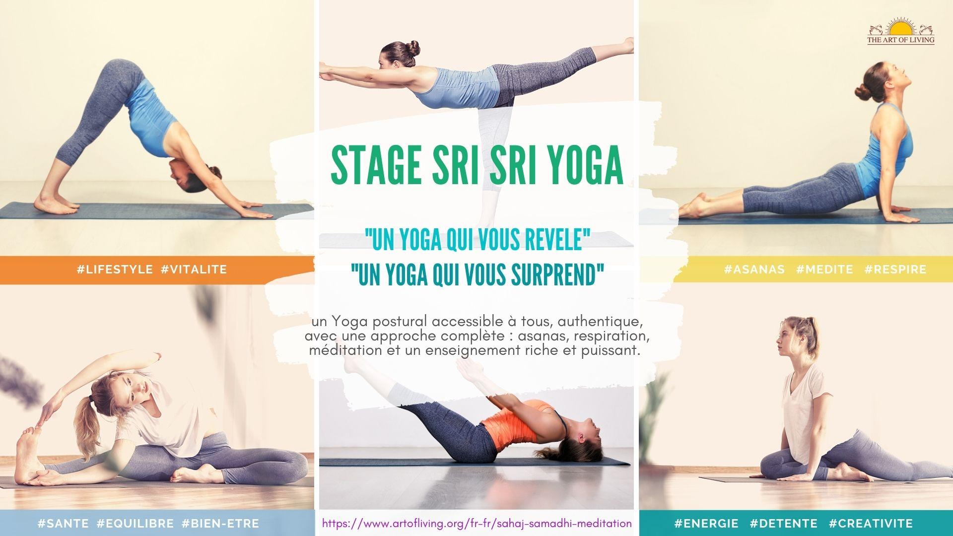 Stage Sri Sri Yoga