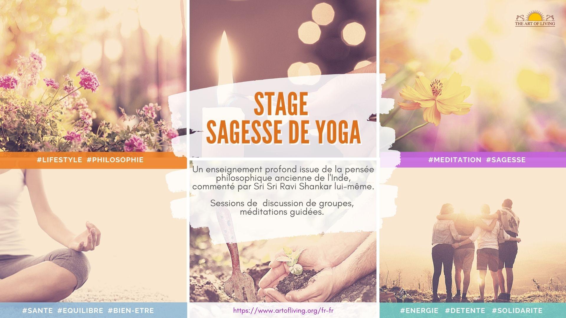 Stage Sagesse du Yoga