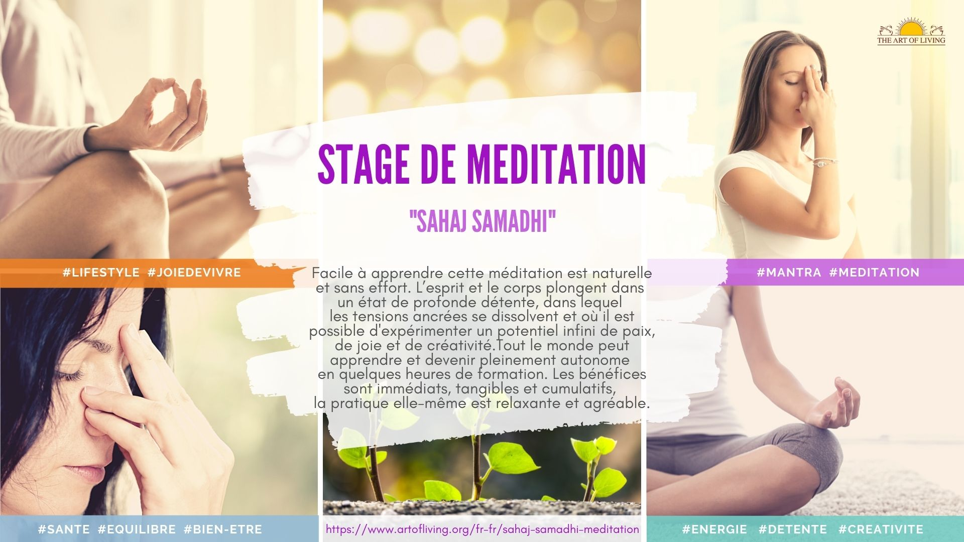 Stage de Méditation Sahaj Samadhi